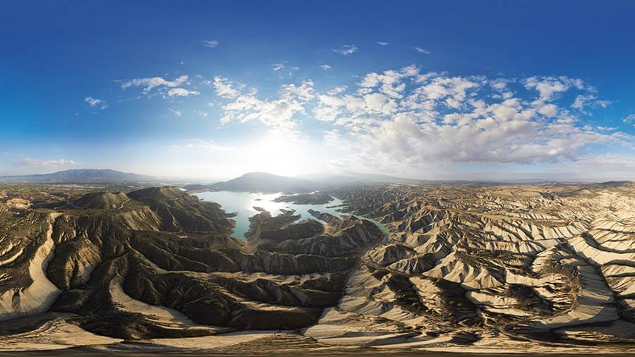 naturaleza, panorámicas aéreas